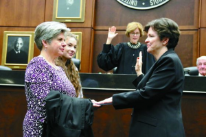 Judge Mary Rowland Swearing-In